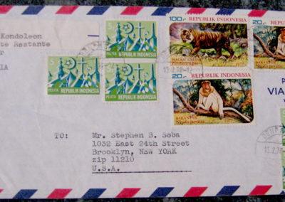 airmail envelope to soba 2