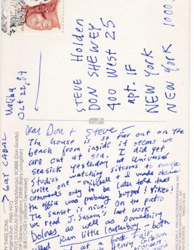 1984oct postcard gay cabal